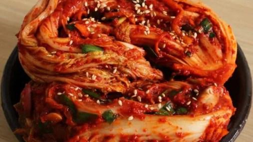 makanan pedas khas korea Kimchi