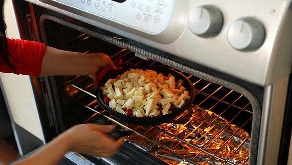 buldak in the oven
