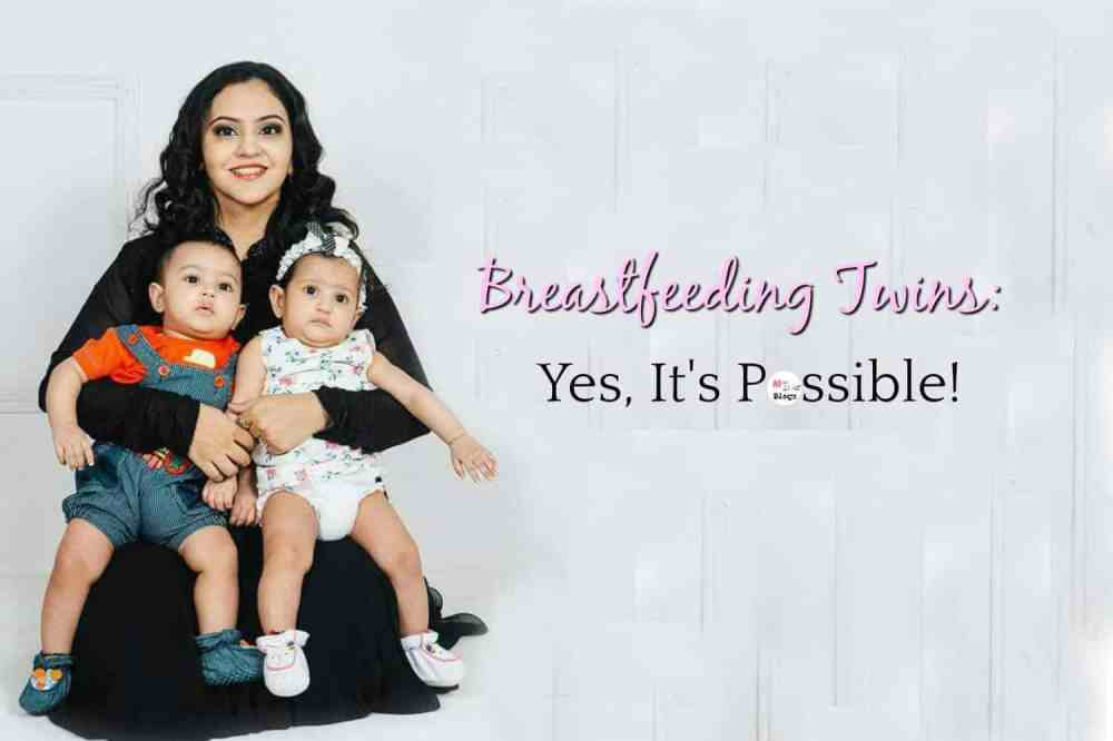 Breastfeeding Twins: Yes, It's Possible!
