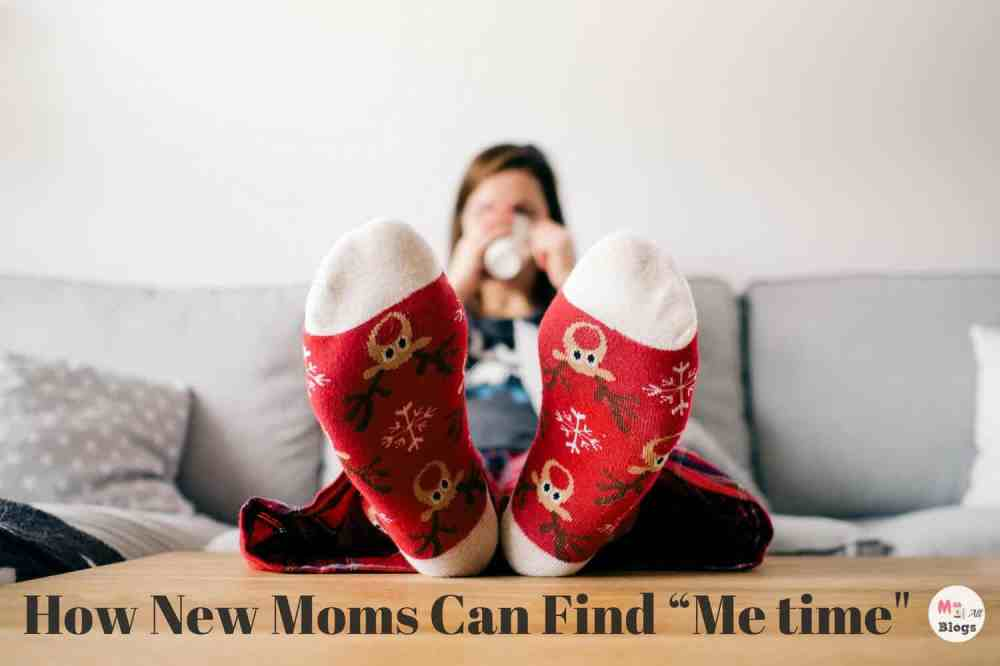 """How New Moms Can Find """"Me time"""""""