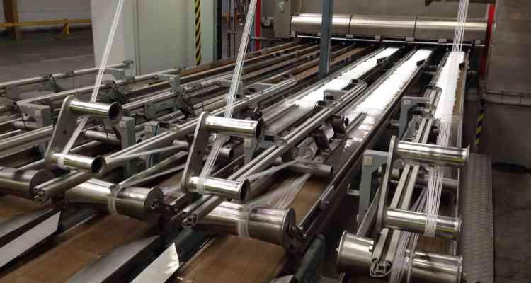 bandes transporteuses en téflon en usine