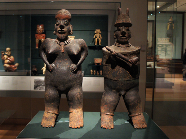 Ancient America - 2 guys - MFA Boston