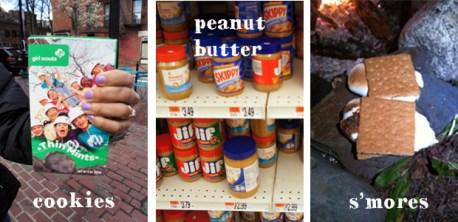 Childhood food memories