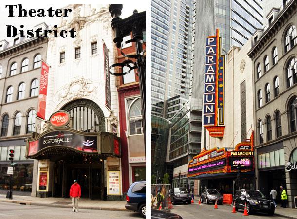 Theater District Boston