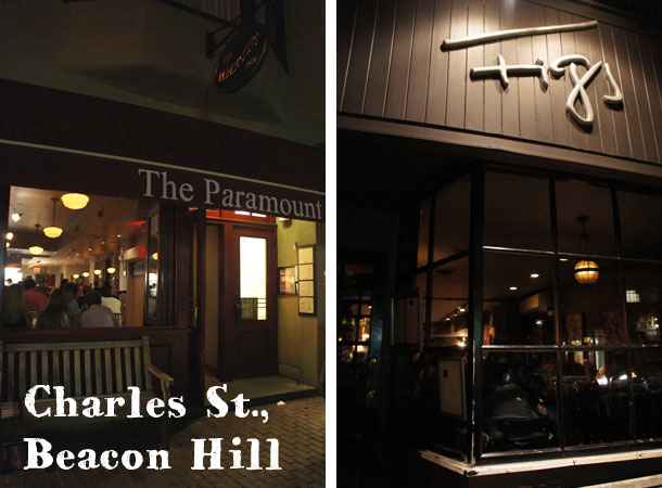To hang out in Beacon Hill