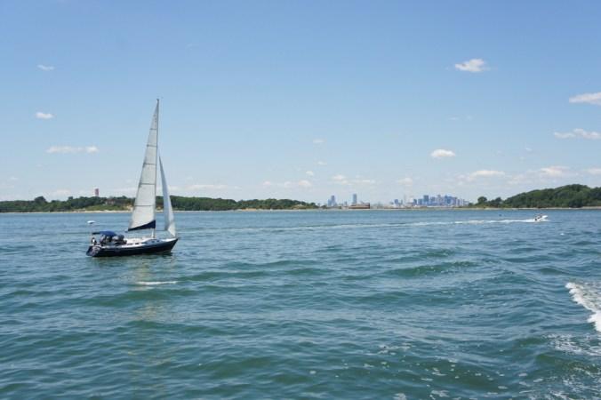 les iles du port de boston