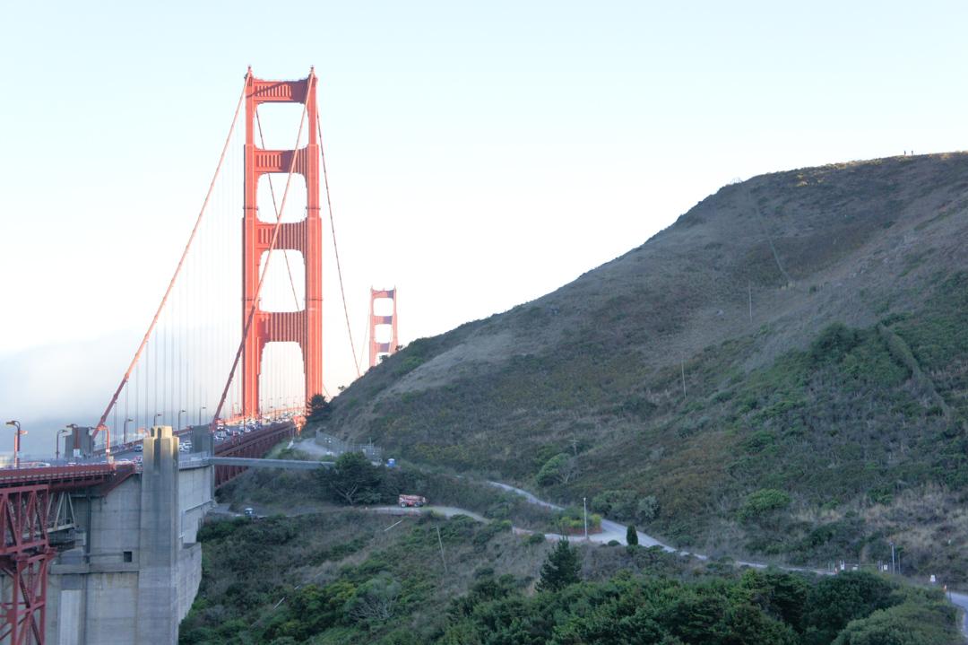Le Golden Gate Bridge - San Francisco Californie
