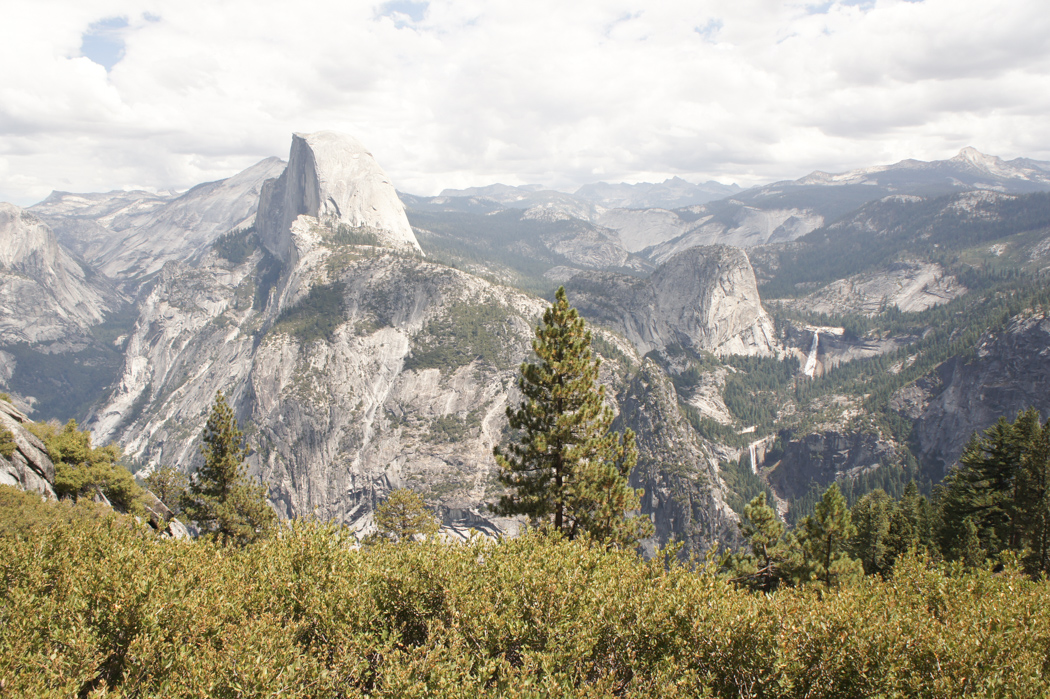 yosemite national park californie la vue