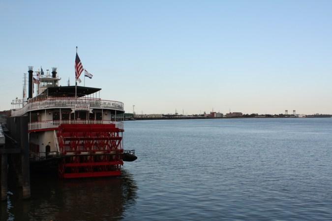 New Orleans roue à aube
