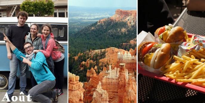 Les vacances dans l'ouest américain : Californie, canyons et burgers