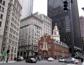 Old State House - Maïté fait un stage à Boston