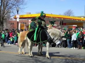 St Patrick - Maïté fait un stage à Boston