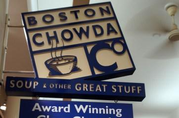 Boston Chowda - Food Court - Clam chowder