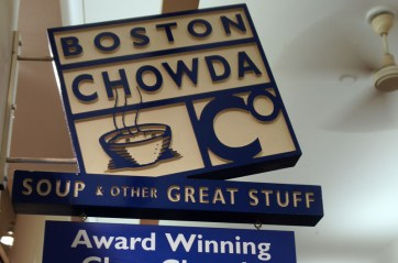 Boston Chowda - Food Court - Clam chowder