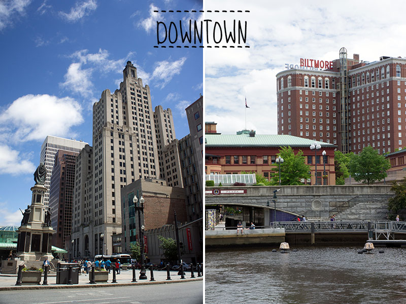 downtown Providence, Rhode Island