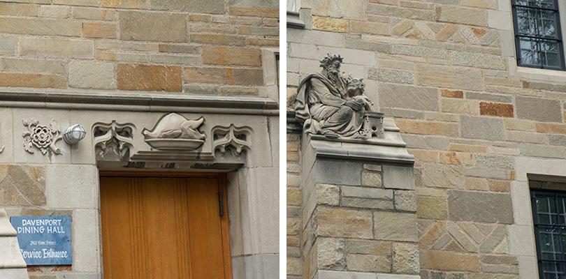 Sculptures Yale University 2