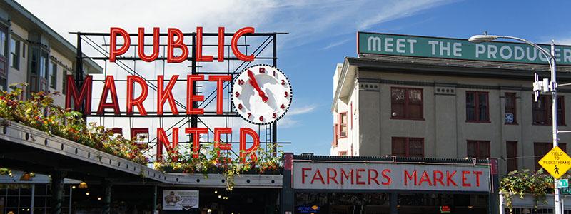 Le marché de Seattle