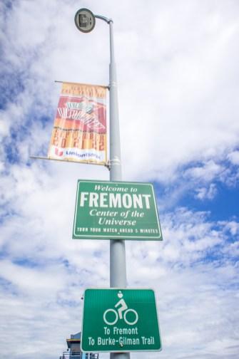 Fremont SEattle panneau