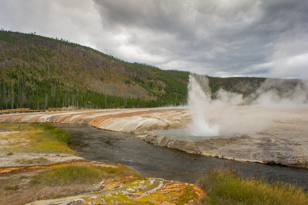 Yellowstone - geysers - parc national