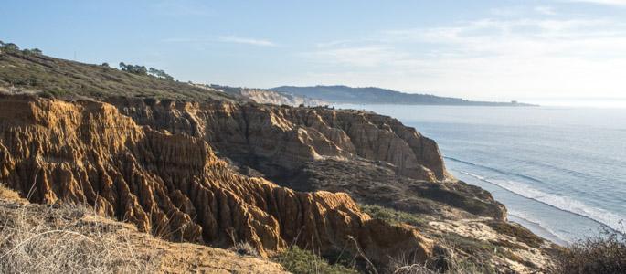 Torrey Pines State Reserve - San Diego, Del Mar, Californie - Cliff