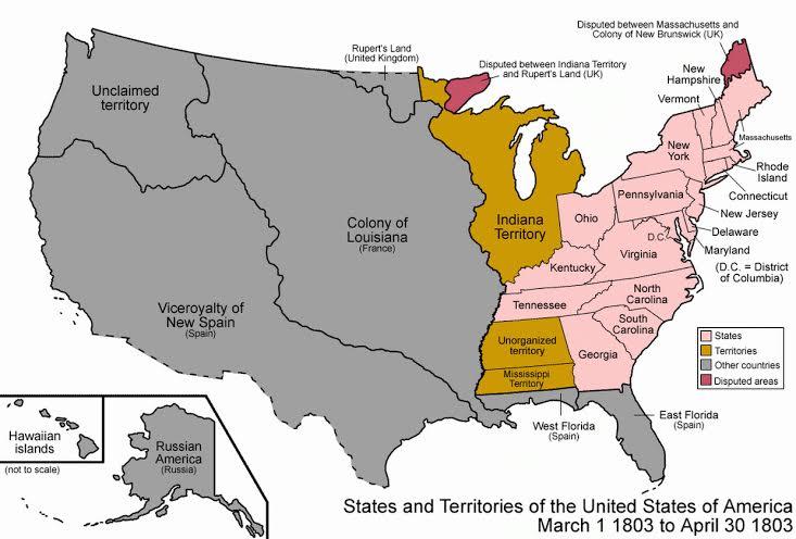 histoire des Etats-Unis