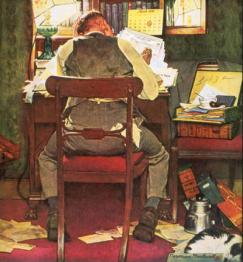 Norman Rockwell - Telegraph