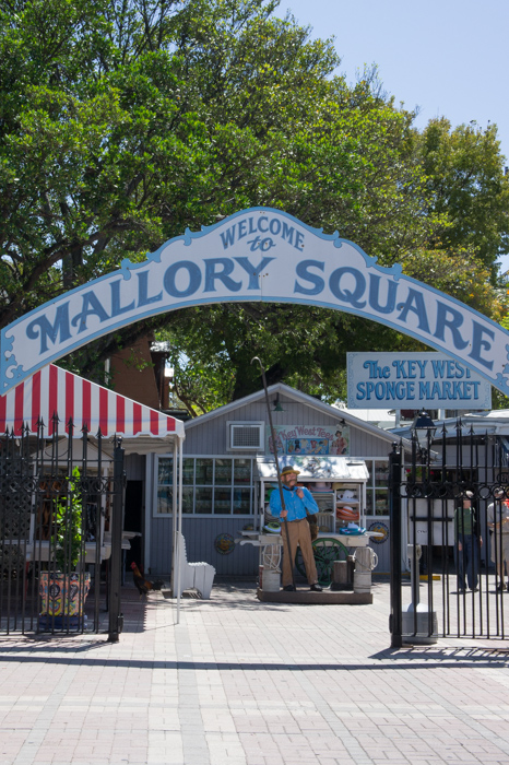Mallory square - Key West - Floride