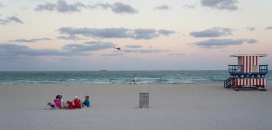 Miami Beach et les cabanes de sauveteurs - Floride