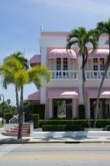 Maison rose à Naples - Floride