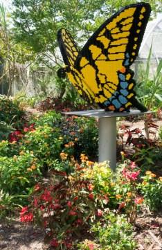 Naples Botanical Garden - exposition avec des lego
