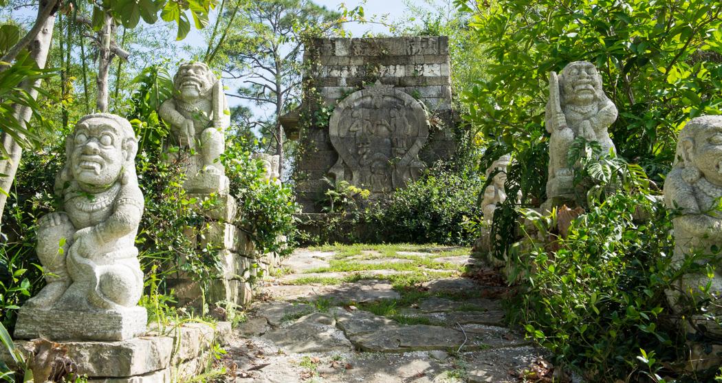 Temple - Naples Botanical Garden - Floride