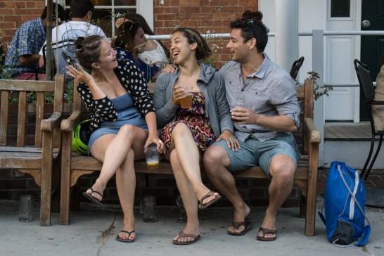Les amis qui rigolent - l'été en Nouvelle angleterre