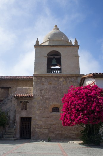 La mission de Carmel en Californie