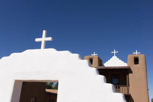 Eglise de Taos Pueblo - Nouveau Mexique