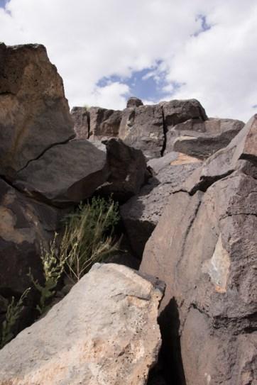 Petroglyph National Monument Albuquerque Nouveau Mexique 3
