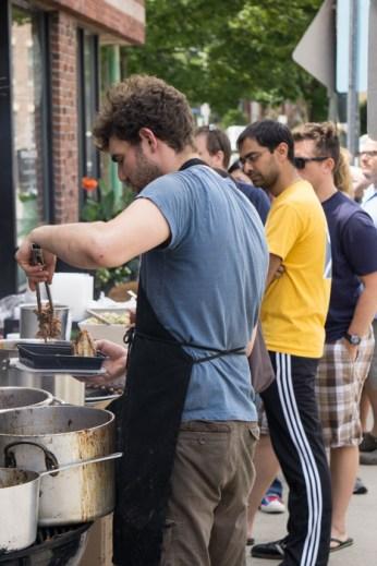 Formaggio Kitchen - BBQ - Cambridge - file d'attente 1