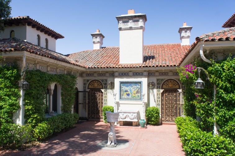 Hearst Castle Californie maison des invités