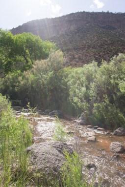 Hotel Jemez Springs Nouveau Mexique Jemez Mountain Trail river