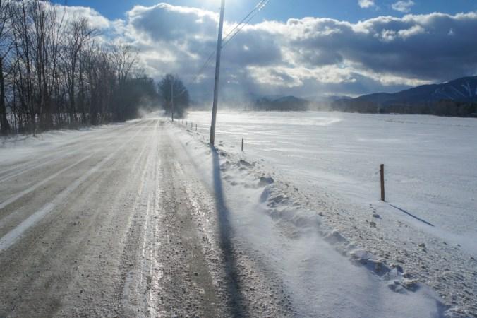 Vermont - Plaine enneigée