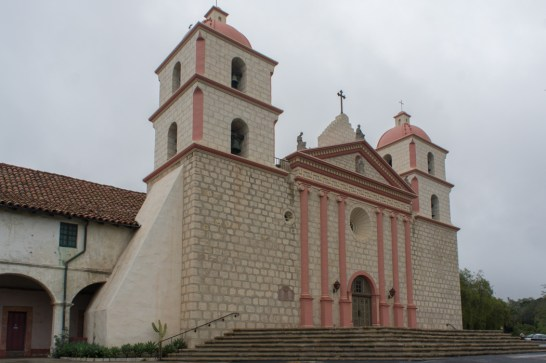 La mission de Santa Barbara Californie
