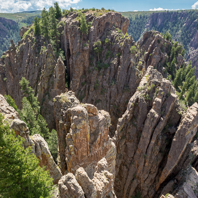 road trip sud ouest américain Black Canyon of the Gunnison Colorado