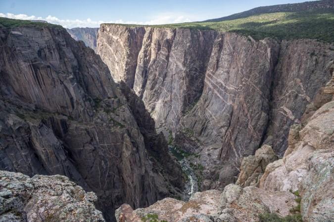 Black Canyon of the Gunnison - National Park - Colorado - road trip Etats-Unis - Gorge