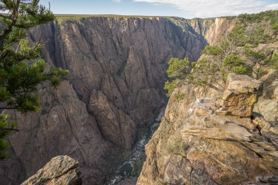 Black Canyon of the Gunnison - National Park - Colorado - road trip Etats-Unis - 2