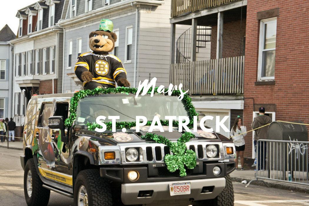 Mars St Patrick