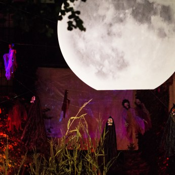 La pleine lune Beacon Hill Halloween trick or treat