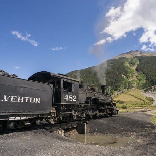Colorado road trip - le train de Silverton