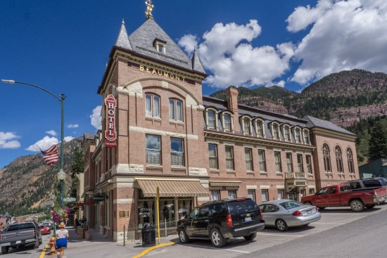 Colorado road trip - Ouray, la suisse de l'Amérique - hotel