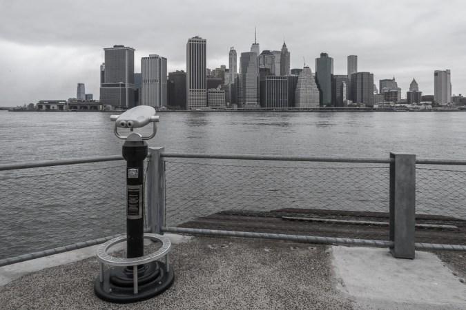 visiter-new-york-6 manhattan vue depuis Brooklyn