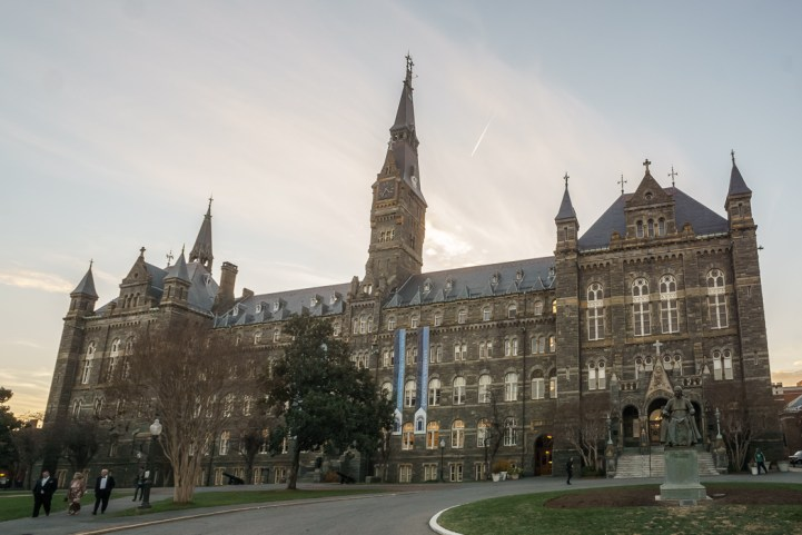 washington-dc georgetown university