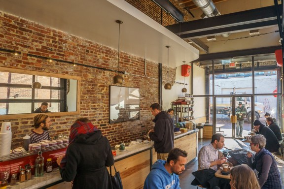 Washington DC Coffee Shop : la colombe